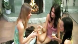 These eager budding hotties relish nothing no end of than having some drinks, partying on top of sharing