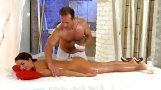 We had so much thrill shooting the prime at all scenes MassageRooms.com - after all months of preparation