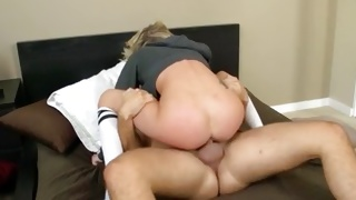 Free porn where babe stuffed with a giant schlong